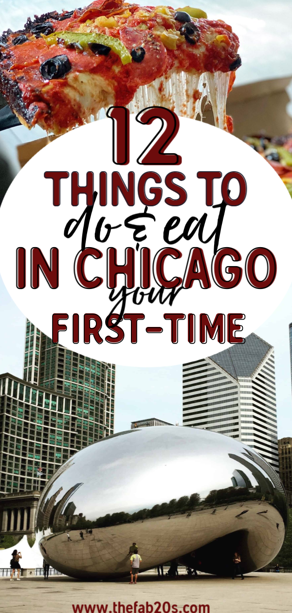 Visiting Chicago? Find out the best things to do and where to eat for first time visitors. From touristy things to more local secrets, you'll find something here for everyone… #chicago #travel
