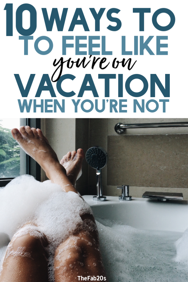 You can have a vacation at home and still have a blast. You don't have to go anywhere to have an amazing staycation from the comfort of you're own home. There's just too much busyness at home to really take a break and rest. Plan for your best vacation at home with these great tips#staycation #vacation