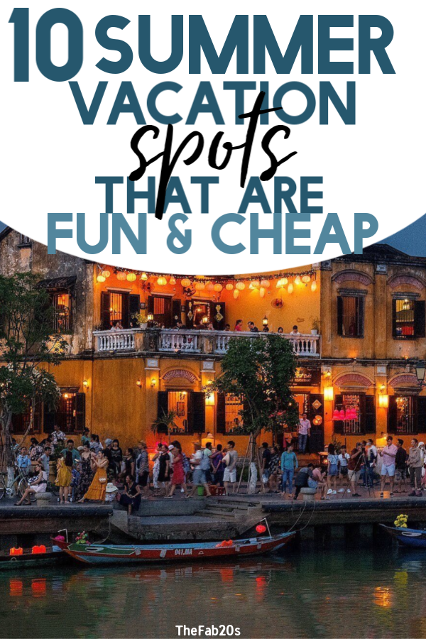 There are so many places to visit in the world ! So if you're looking for a good summer vacation spot with less people, you're gonna want to read this list! Best budget vacation spots the whole family will love  #travel #roadtrips #summervacation #vacationplanning
