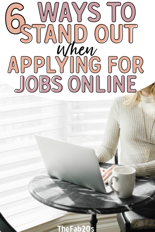 Applying for jobs online can be such A DRAG! You're applying for a position against a hundred eligible candidates, so how can you set yourself apart from the pack? Make your resume stand out and land the dream job with these easy tips! #resume #jobapplication
