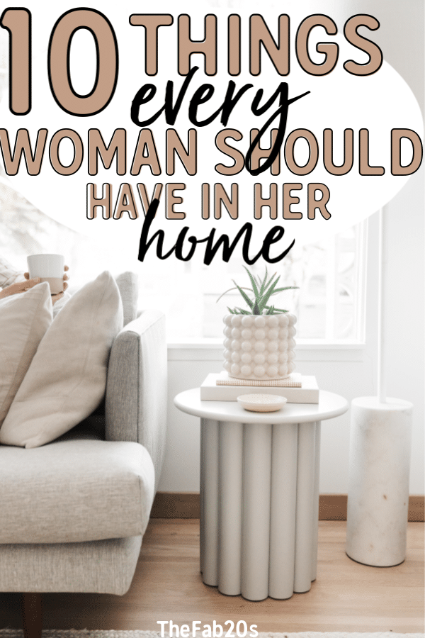 10 Things People Wish They Had Before Moving Into Their First Home. These home essentials are a game-changer for adulting. These items are a must-have for your first apartment! First apartment essentials and must haves