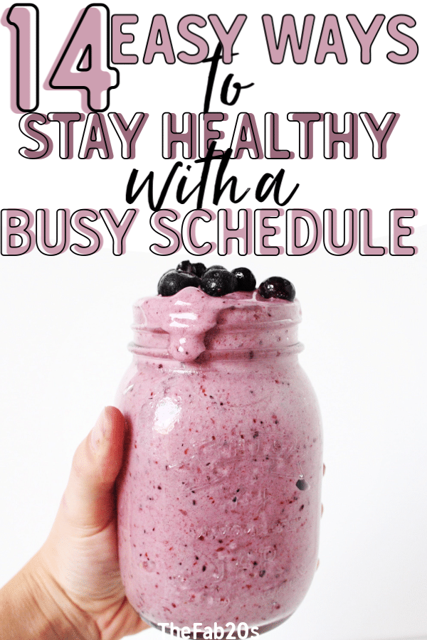 Want to find out the secrets of woman who stay fit and healthy with busy schedules?! These 14 tips and tricks are how you can stay in shape even if your life is HECTIC. You can have a thriving social life and career WITHOUT sacrificing your health. #stayhealthy #healthyandfit