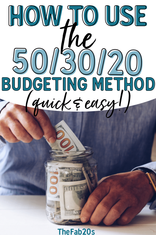 Learn how to create a simple and effective budget with the 50/30/20 budget method.This is the perfect budget plan for beginners like me to start a budget and save money to pay off debt. And the free printable template is pretty amazing too! #budget #budgeting