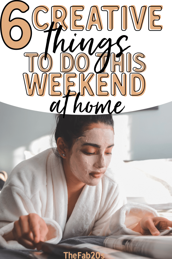 Trying to figure out what to do this weekend at home? Planning a fun day at home, or a staycation, is easy! Whether you're alone or having a weekend with your boyfriend/girlfriend, these are my favorite ways to spend the day and not spend too much money! #FunAtHome #StayAtHome