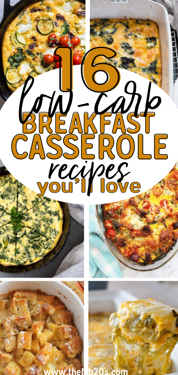 Amazing and Delicious Keto Breakfast Casseroles your whole family will love! These low-carb breakfast recipes are perfect to meal-prep and start the week on a healthy note. Healthy and nutritious casseroles for the holidays or ANY time of year #Casseroles #BreakfastCasseroles