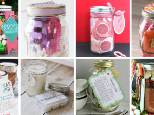 Easy mason jar gift ideas for friends and family for Christmas! These gift ideas are perfect for all occasions, whether its a birthday or the holidays. Thoughtful Handmade Christmas gifts. Budget-friendly DIY gifts #DIYGifts