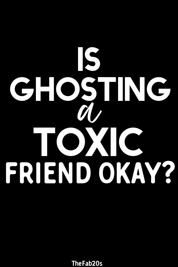 Is ghosting a toxic friend okay? How do you have a friendship breakup? Platonic friends can be as tricky as romantic ones and figuring out how to navigate a friendship breakup can be hard! #Breakup #ToxicFriend