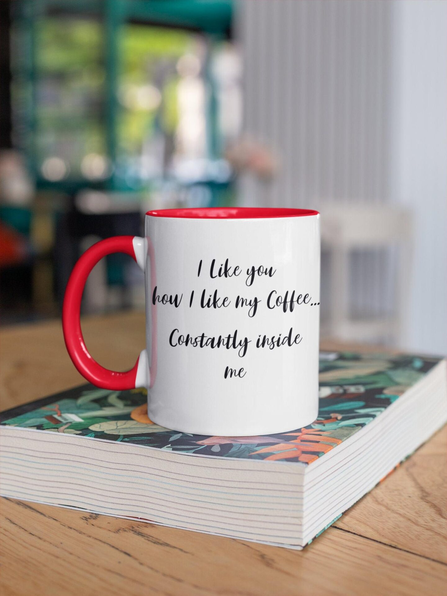 Dirty coffee cup for your boyfriend. Naughty valentines day gift ideas for him.
