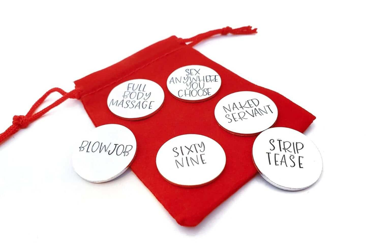 Naughty Tokens for Valentines Day