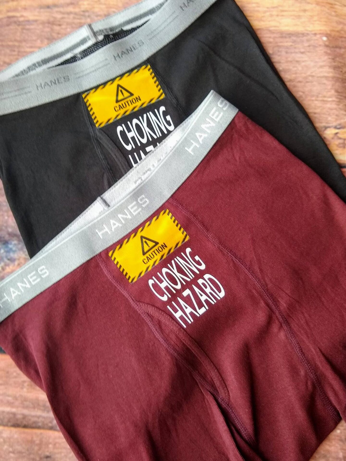 Custom boxers perfect for a naughty valentines day gift idea for him