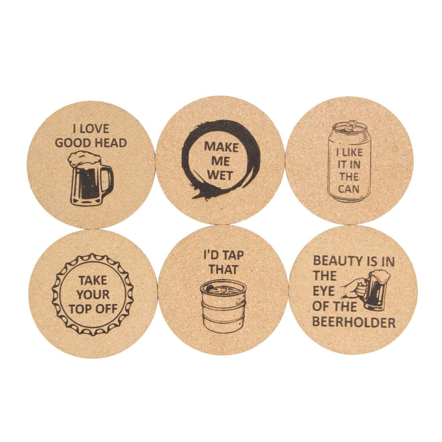 Naughty coasters for valentines day gift