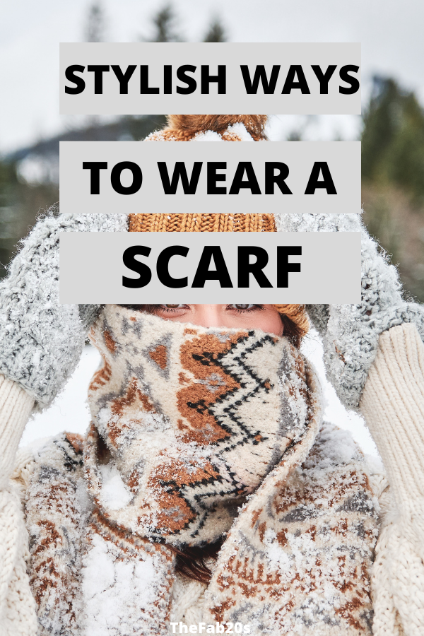 WOW! I love these scarf tying ideas for winter! I love trying out the creative ways to tie scarves