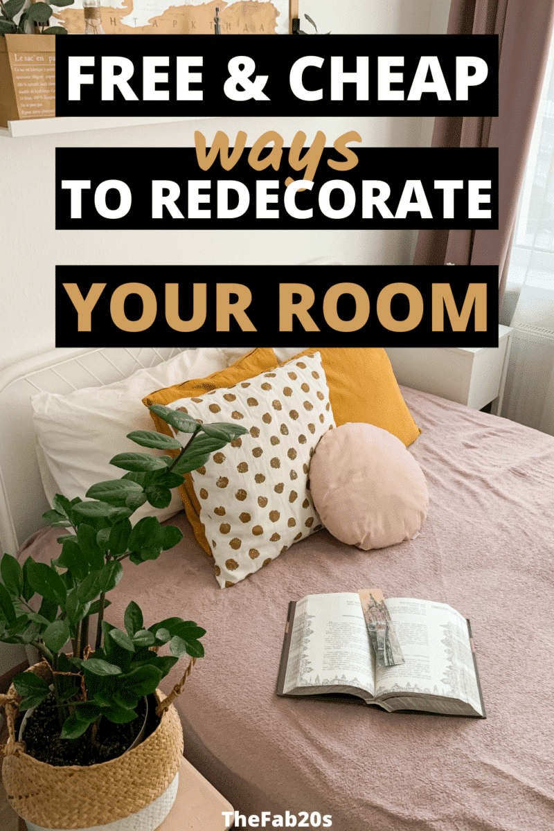 Thank you!! I was looking for how to decorate your room for free and these budget room decor ideas are amazing! These bedroom decorating ideas are sooo good.