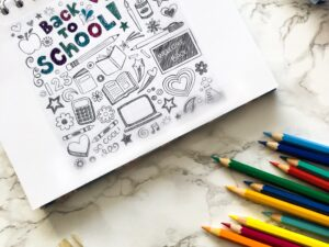 How to sketchnote in school