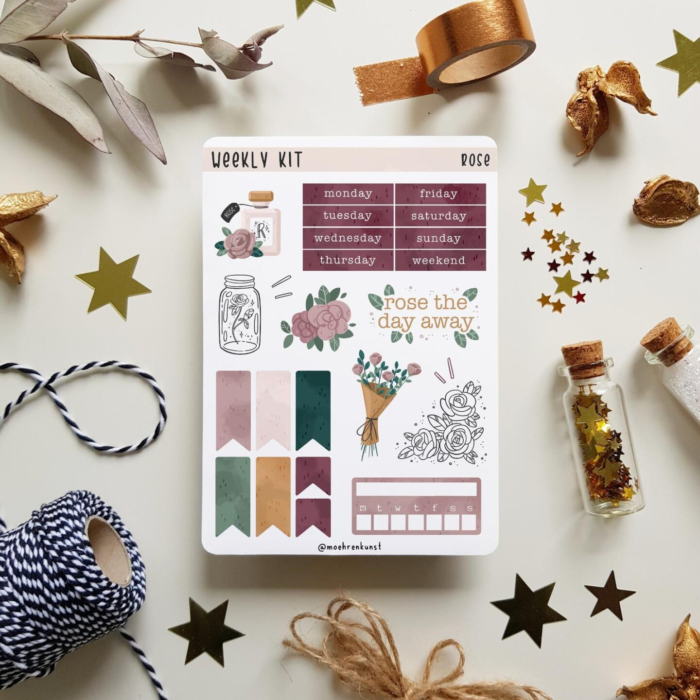 Stickers are a bullet journal lovers best friend! Give the journal aficionado in your life a pack of stickers to design their favorite pages in their planner