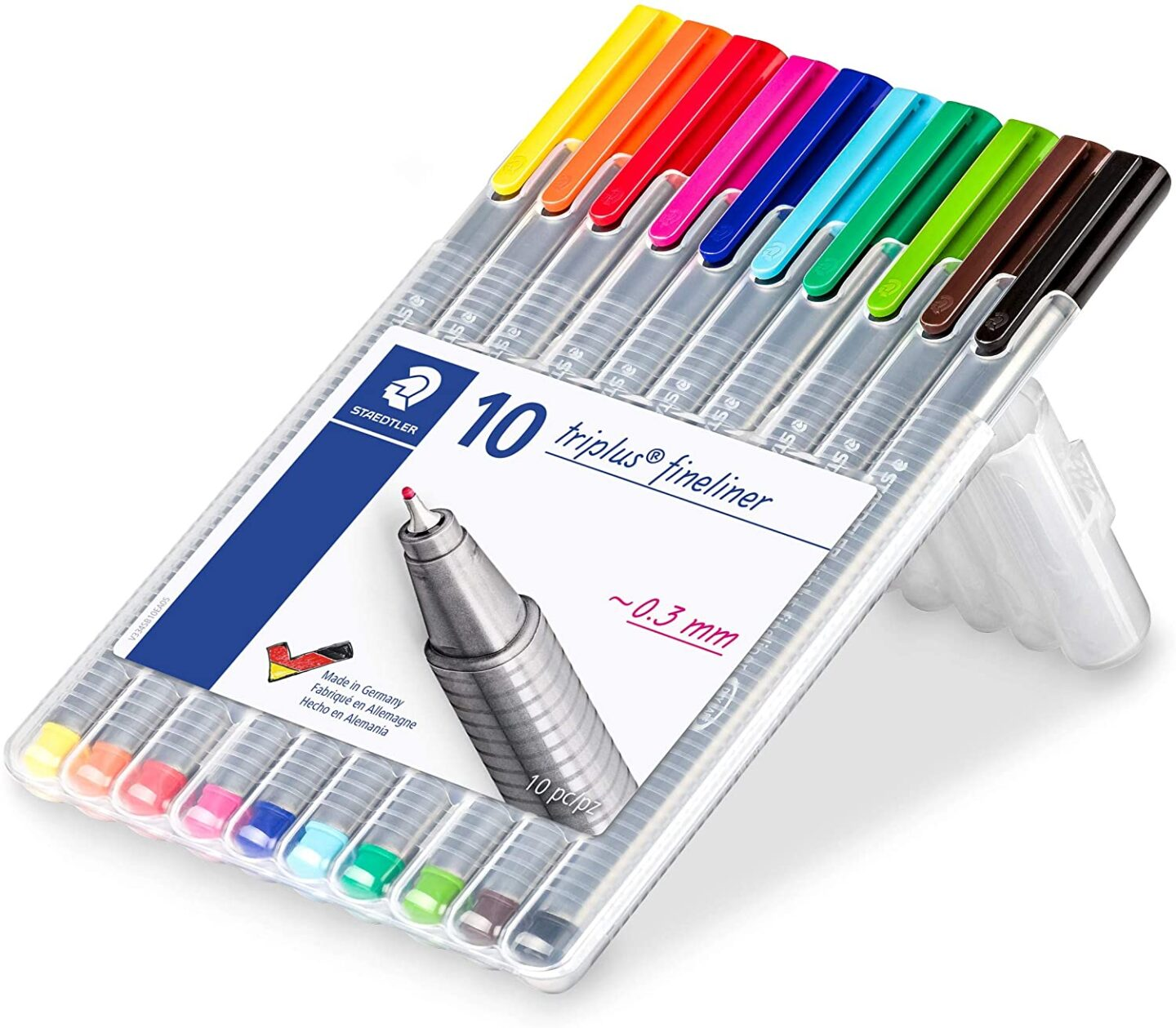 You can't go wrong with colored pens if you're looking for bullet journal gift ideas
