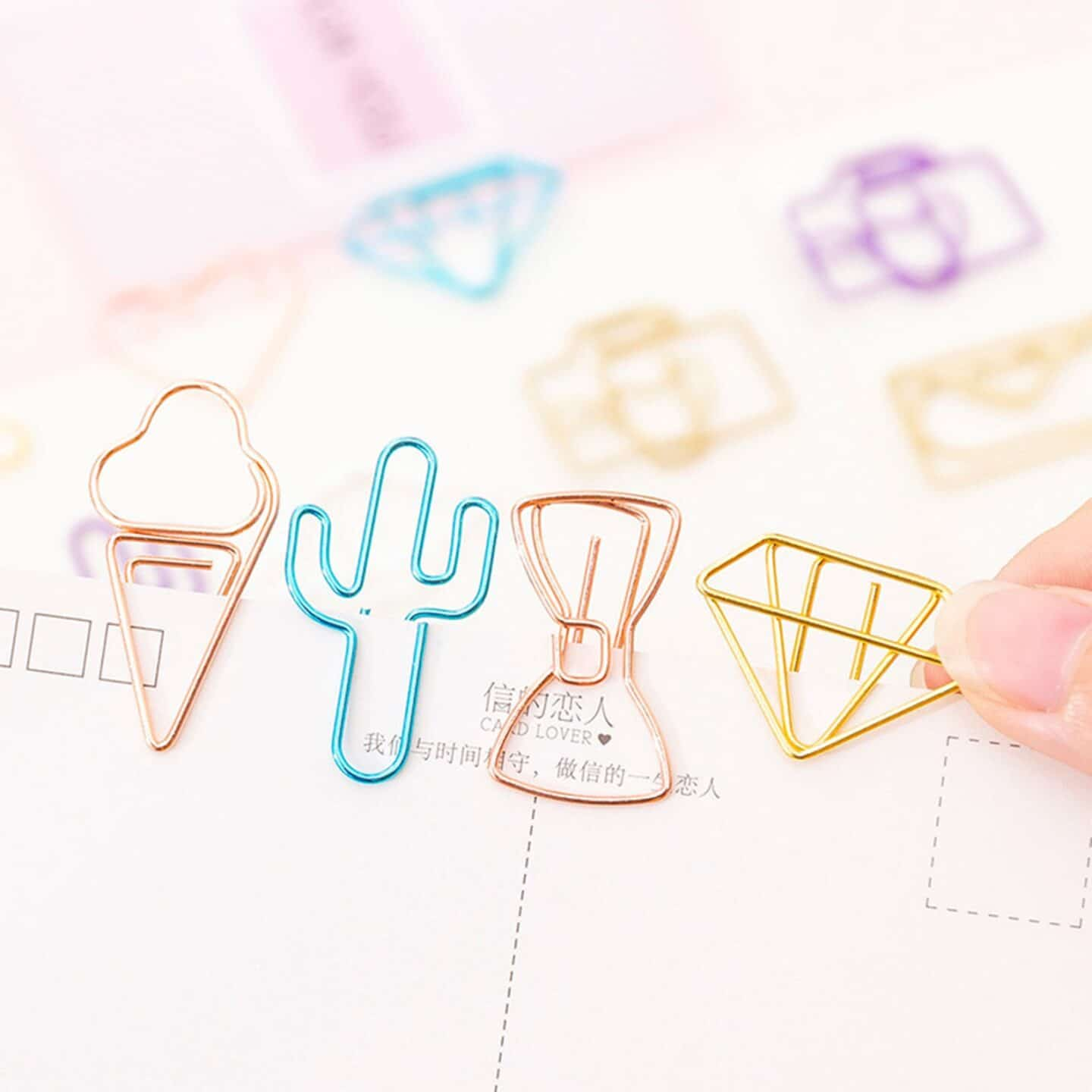 Adorable paper clips make the Best Bullet Journal Gift Ideas