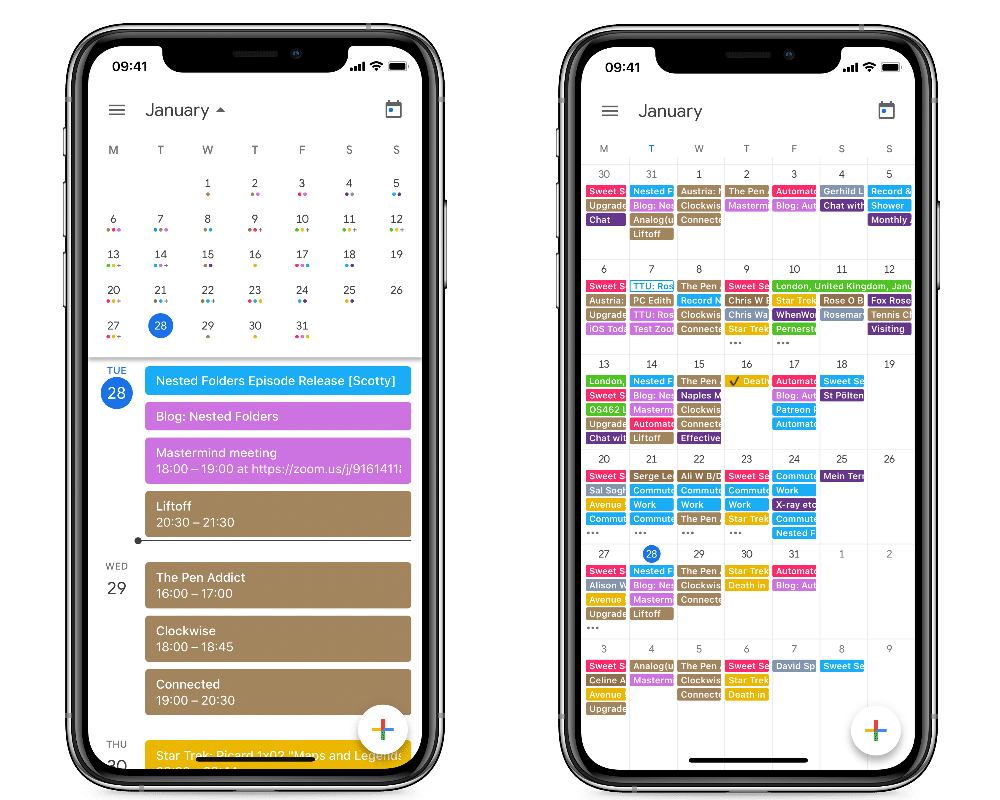 Google Calendar is the best Birthday Tracker app