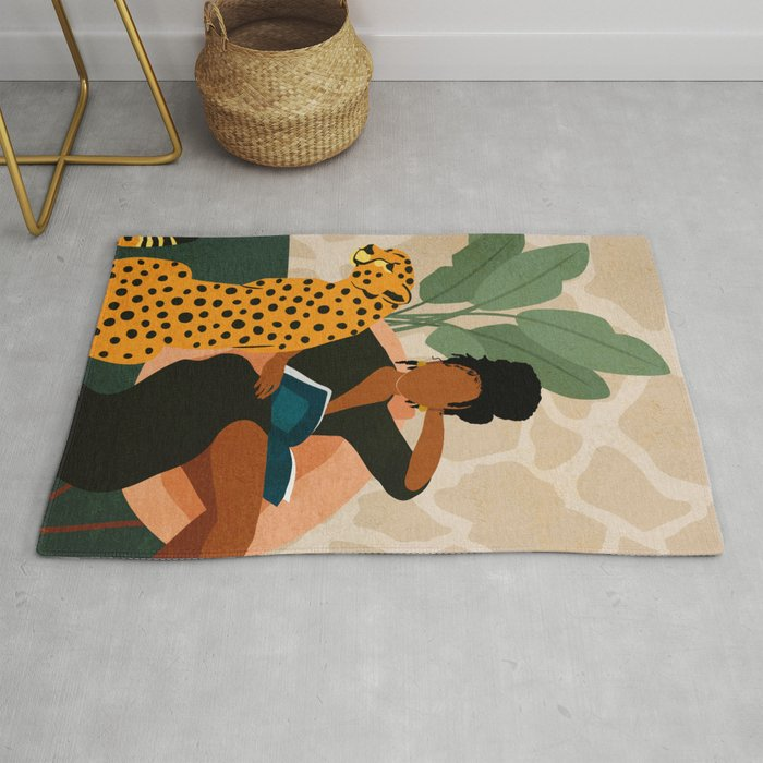 Incredible rug to show off your personality offer a chill vibe