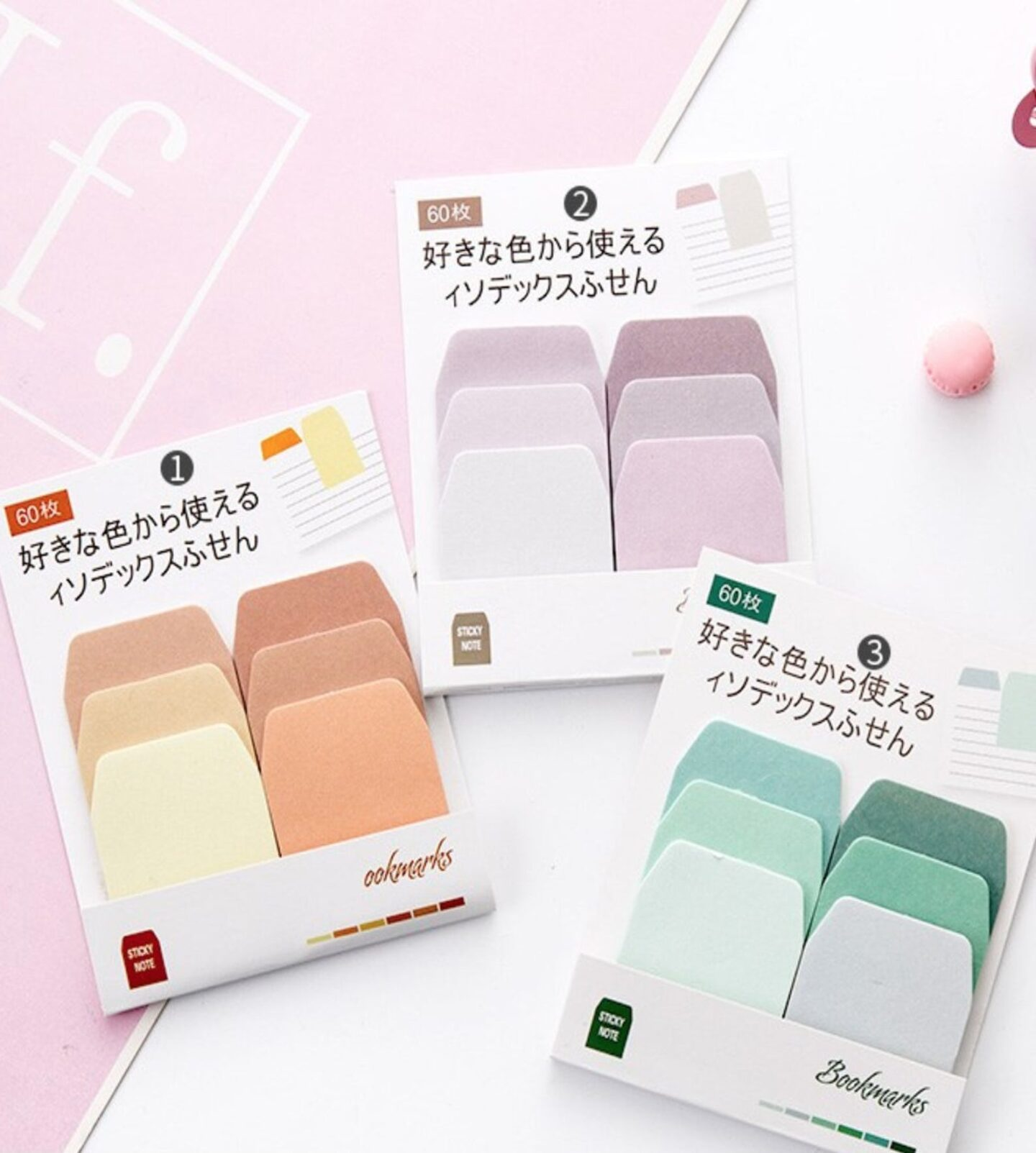 Sticky tabs and Diary sticky notes - Multi coloured sticky notes perfect gift idea for bullet journals