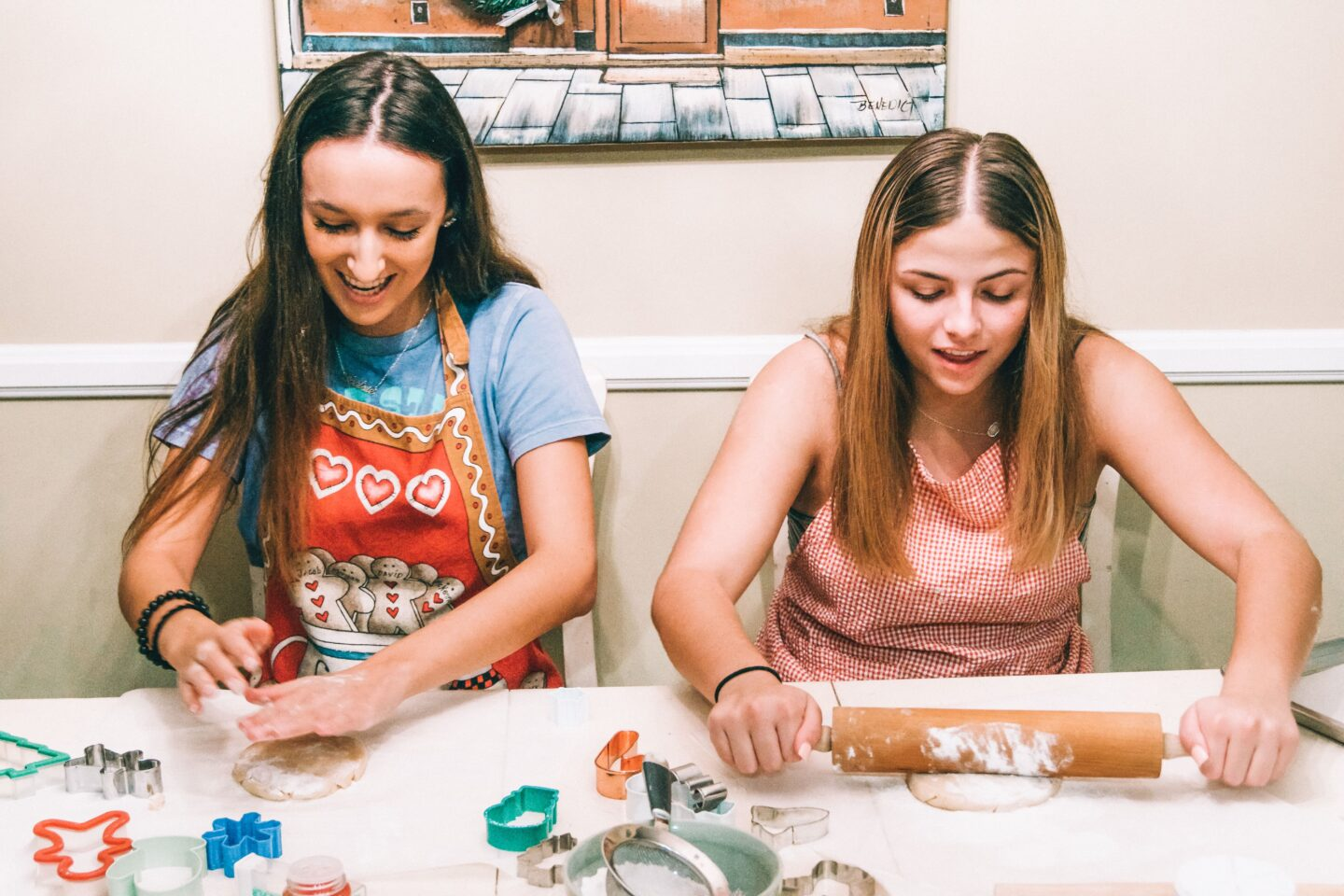 Taking a class, whether painting, cooking, karate, ANYTHING, is a fun way to make new friends