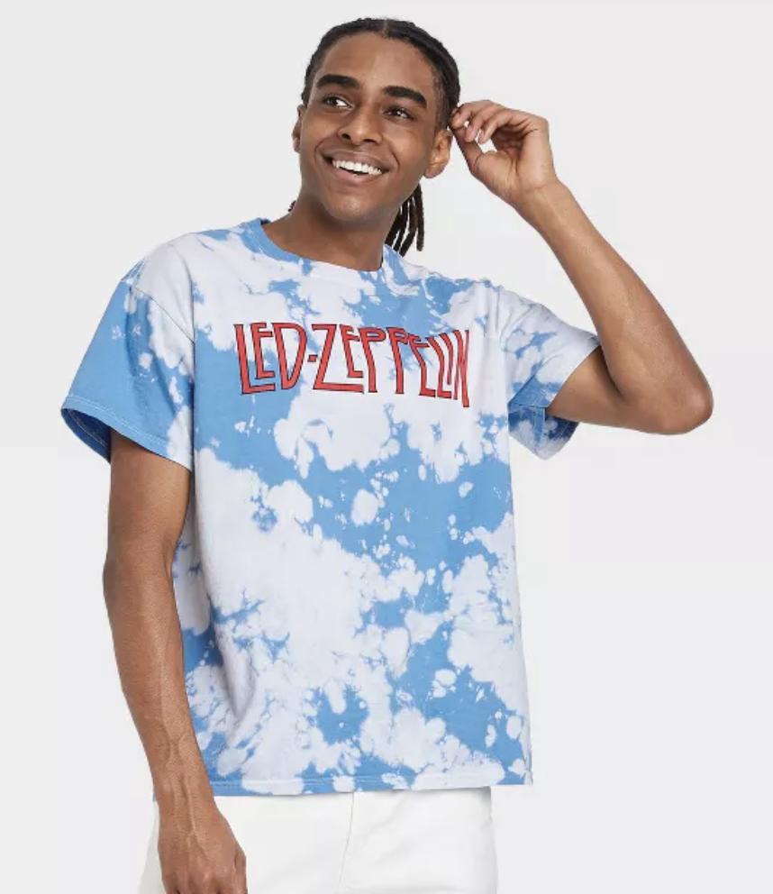 Led Zeppelin Short Sleeve Graphic T-Shirt - White
