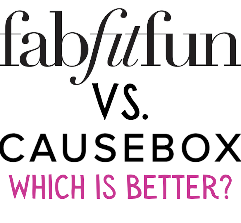 Causebox Vs. FabFitFun