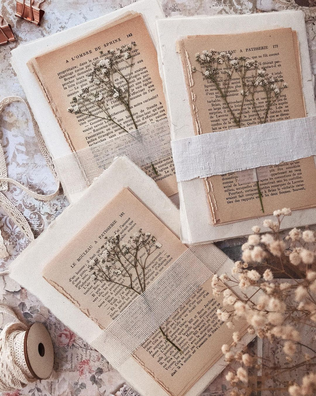 Gorgeous junk journal ideas and inspiration for your planner or memorabilia