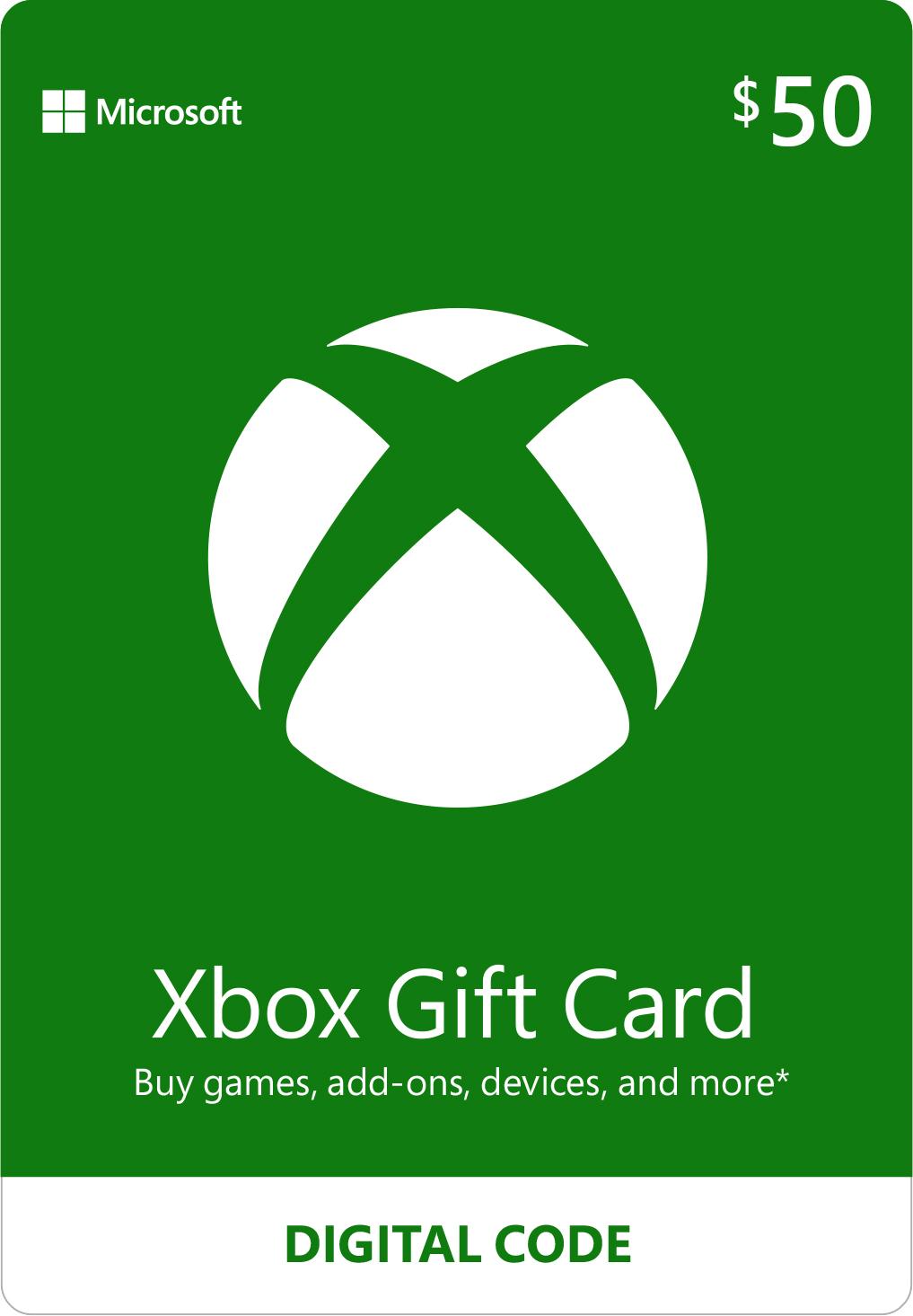 Microsoft Xbox Gift Card - Best Buy