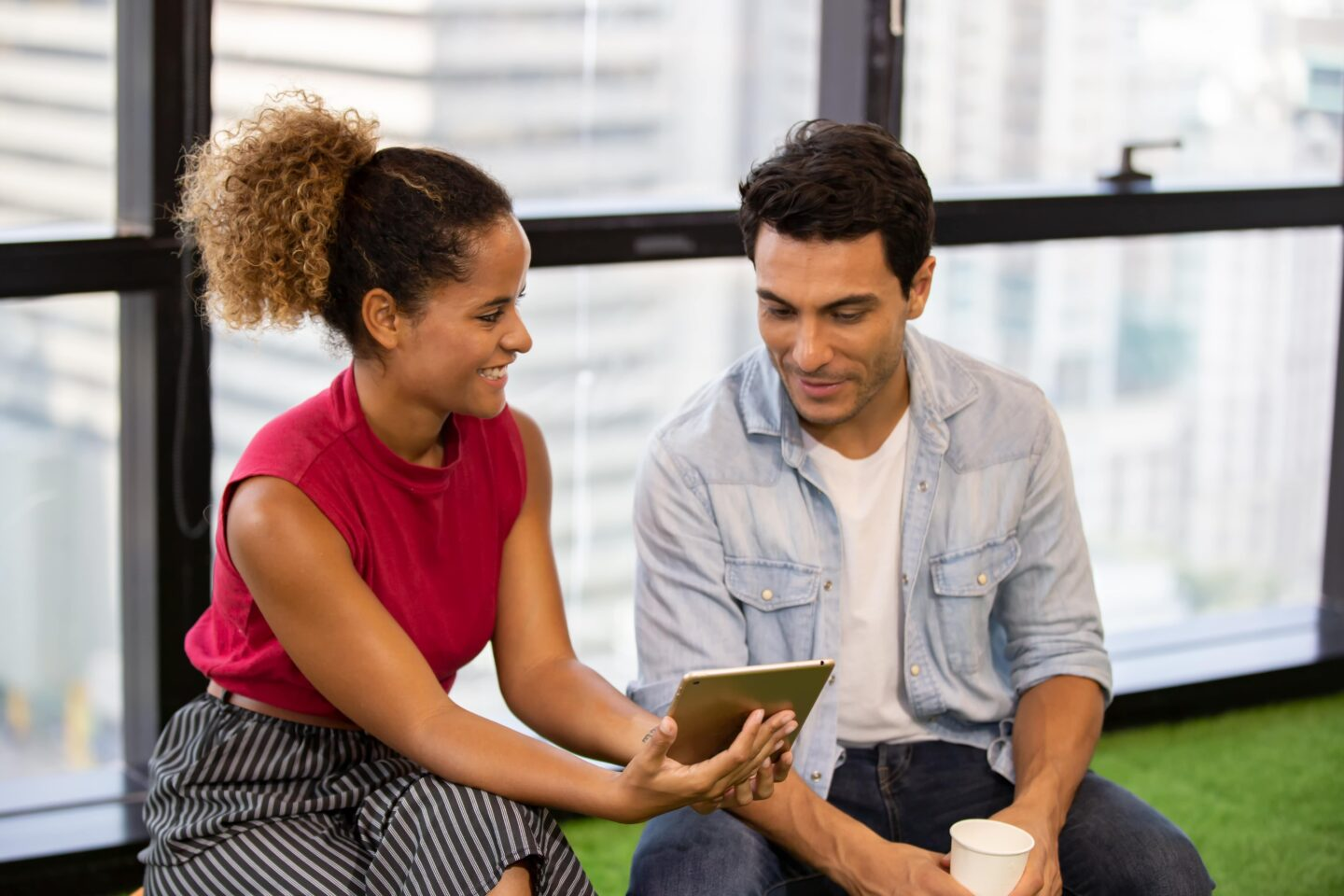 Young professional - making friends in your 20s at work