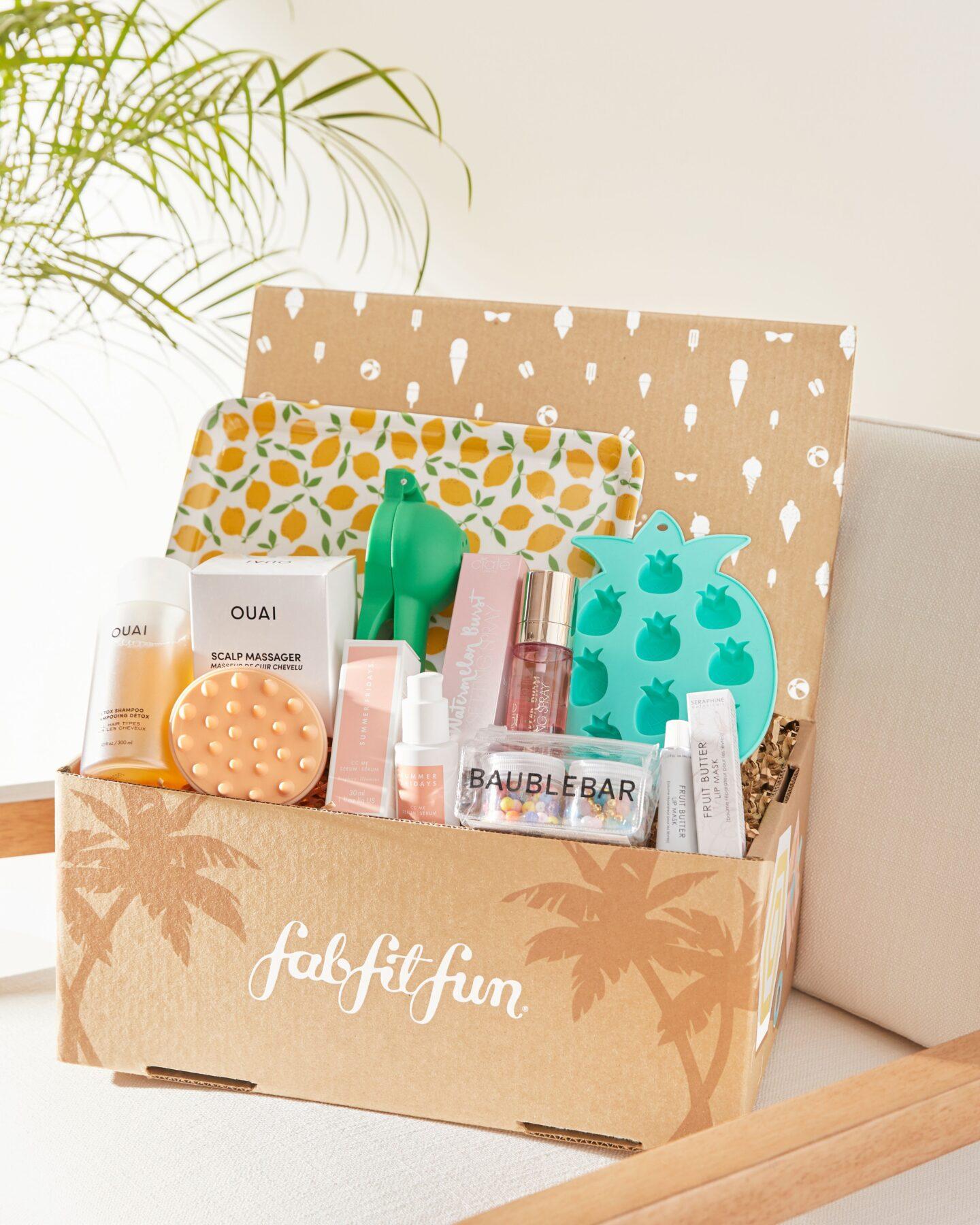 FabFitFun Open Box Summer 2021 Spoilers
