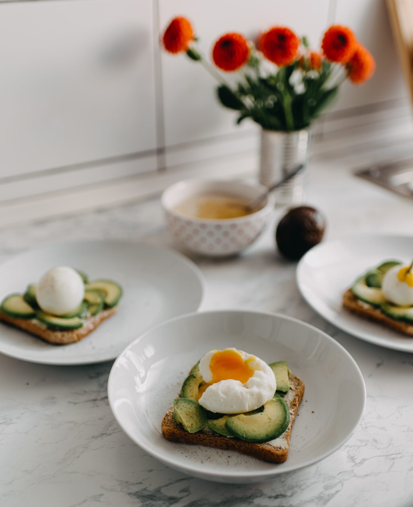 Avocado toast is an amazing meal and easy snack as well - naturally thin women practice portion control with all foods
