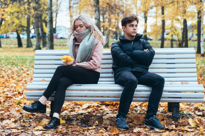 young couple unhappy - my boyfriend forgot my birthday