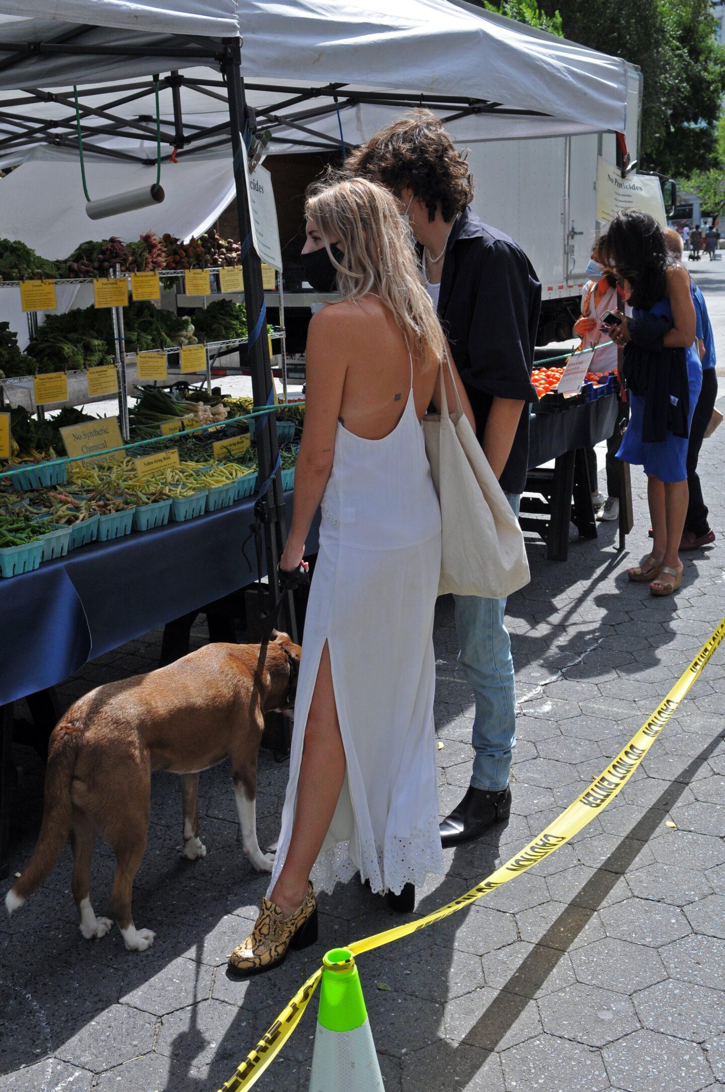 Visit A Market Third Date Idea