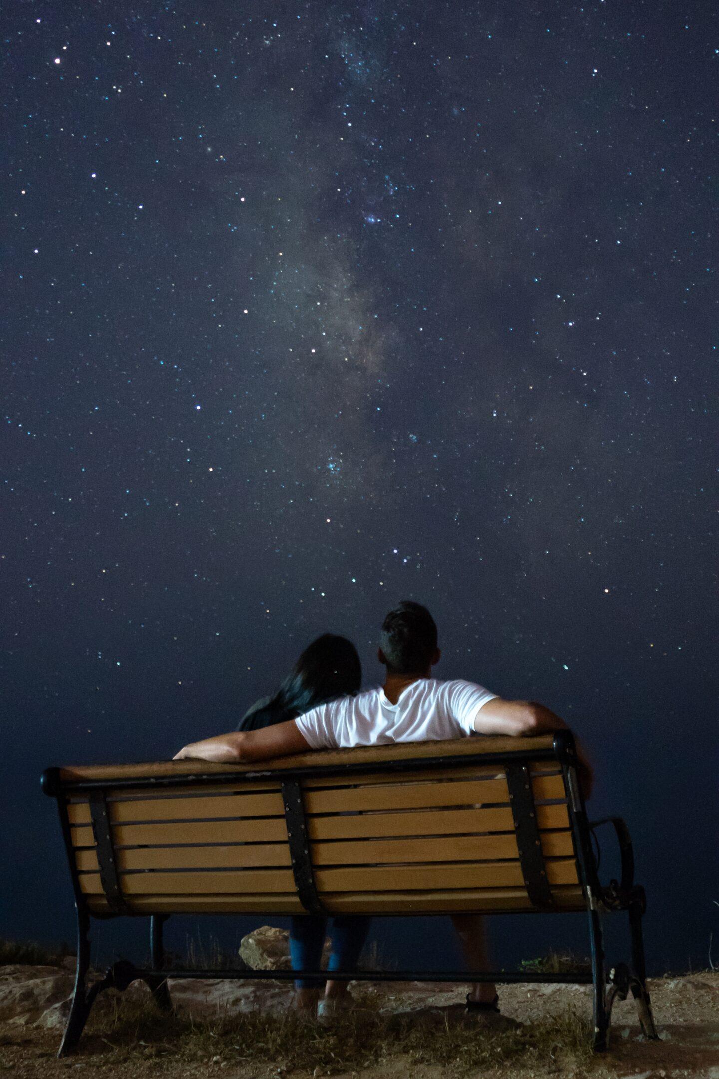Stargazing is an Amazing Third Date Idea