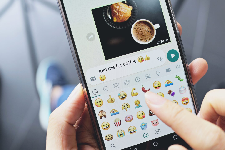 Use Emojis to show you love them via text